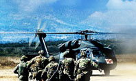 Military Helicopter Forces Presentation Template