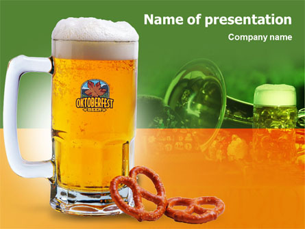 Bavarian Beer Festival Presentation Template for PowerPoint