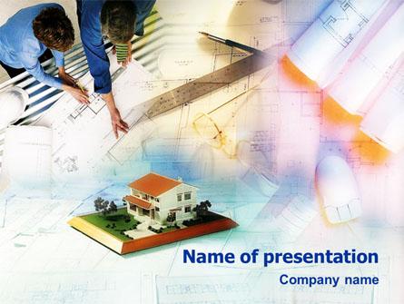 Architecture Planning Presentation Template, Master Slide