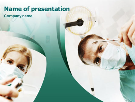 Stomatology Presentation Template, Master Slide
