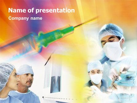 Medical Assistance Presentation Template, Master Slide