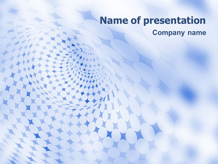 Blue Abstract Presentation Template For Powerpoint And Keynote Ppt