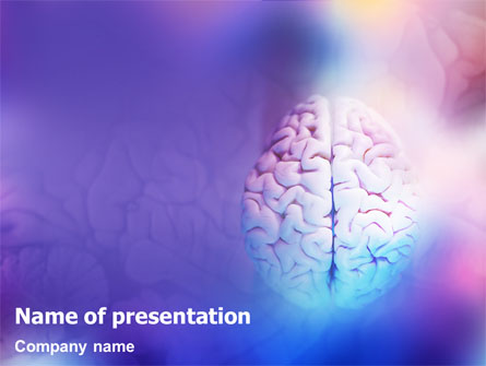 Brain Presentation Template, Master Slide