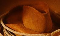 Cowboy Hat Presentation Template