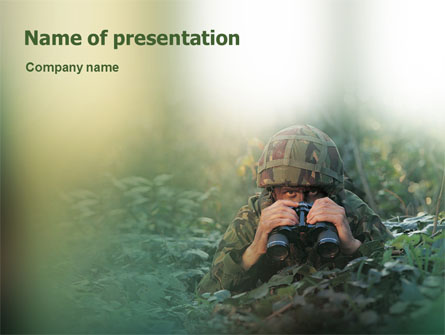 Military presentation template for powerpoint and keynote ppt star military presentation template master slide toneelgroepblik Gallery