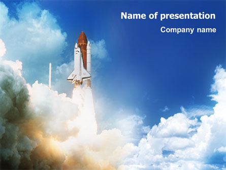 space shuttle powerpoint template - photo #7