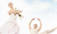 Flying Ballerinas Presentation Template