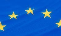 European Union Flag Presentation Template