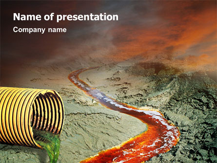 Chemical pollution presentation template for powerpoint and keynote chemical pollution presentation template master slide toneelgroepblik Image collections