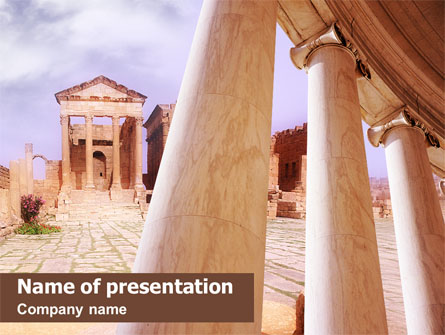 ancient greece presentation template for powerpoint and keynote, Powerpoint