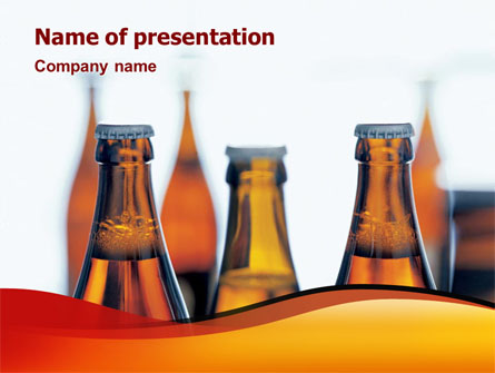 Bottles Of Beer Presentation Template Master Slide
