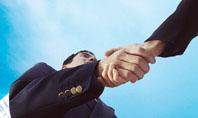 Business Meeting Outdoor Presentation Template