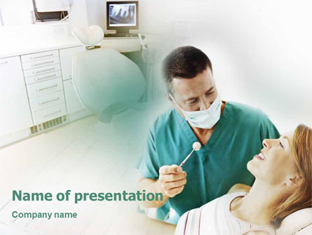Dental Help Presentation Template, Master Slide