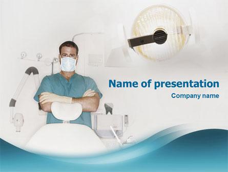 Dental Medicine Presentation Template, Master Slide