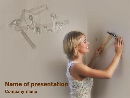Service Presentation Template, Master Slide