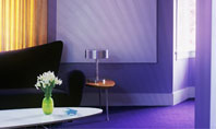 Interior In Violet Presentation Template
