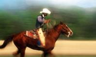 Cowboy Riding Presentation Template