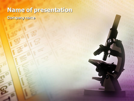 Chemistry presentation template for powerpoint and keynote for Sfondi chimica