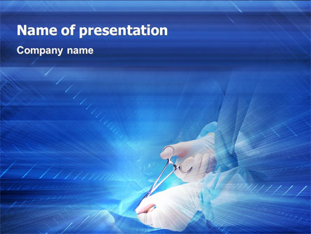 Surgical forceps presentation template for powerpoint and keynote surgical forceps presentation template master slide toneelgroepblik Gallery