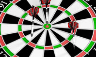 Darts And Target Presentation Template