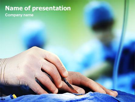 Urgent surgery presentation template for powerpoint and keynote urgent surgery presentation template master slide toneelgroepblik Gallery