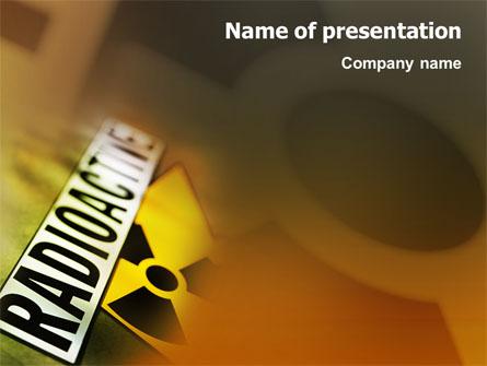 Radioactive presentation template for powerpoint and keynote ppt star radioactive presentation template master slide toneelgroepblik Gallery
