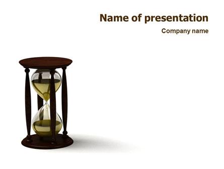 Sand-Glass Presentation Template, Master Slide