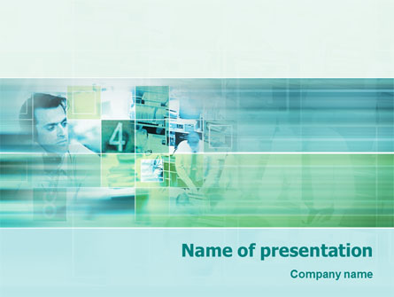 Business Process Presentation Template, Master Slide