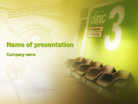Clinic Presentation Template, Master Slide