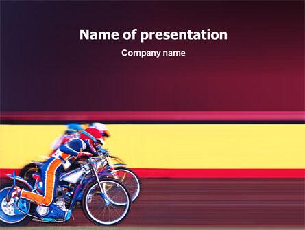 Motorcycle sport free presentation template for powerpoint and motorcycle sport free presentation template master slide toneelgroepblik Image collections