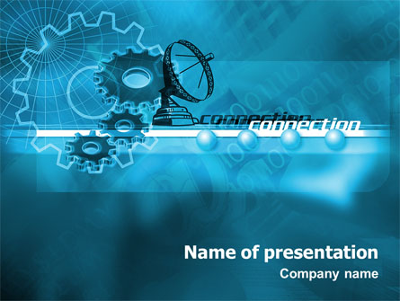 telecommunication systems presentation template for powerpoint and, Powerpoint templates