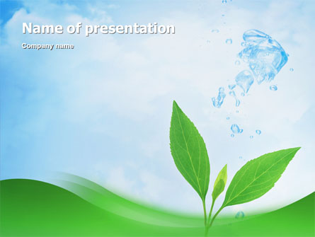 pure nature presentation template for powerpoint and keynote | ppt, Presentation templates