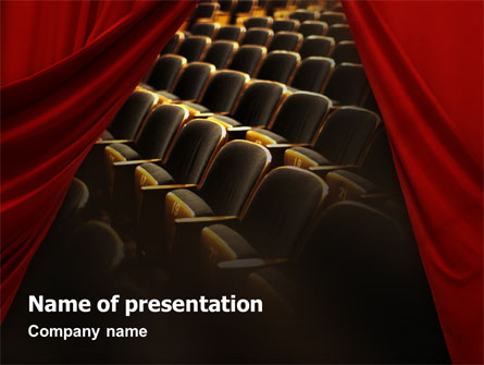 Movie theater background powerpoint ezmoney88 cinema hall presentation template for powerpoint and toneelgroepblik Choice Image