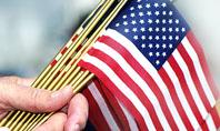 USA Flag Presentation Template