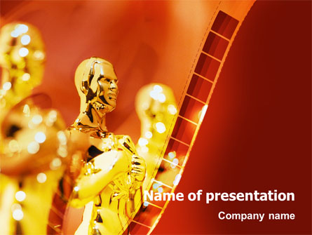 movie award presentation template for powerpoint and keynote ppt star