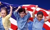 Children Of The USA Presentation Template