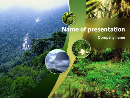 Rainforest presentation template for powerpoint and keynote ppt star rainforest presentation template master slide toneelgroepblik Gallery