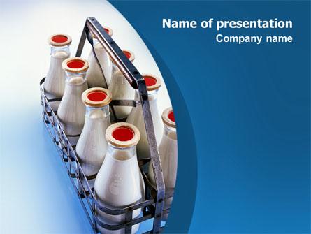 Milk delivery presentation template for powerpoint and keynote ppt milk delivery presentation template master slide toneelgroepblik Image collections