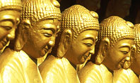 Statues of Buddha Presentation Template
