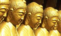 Statues of Buddha Presentation Template
