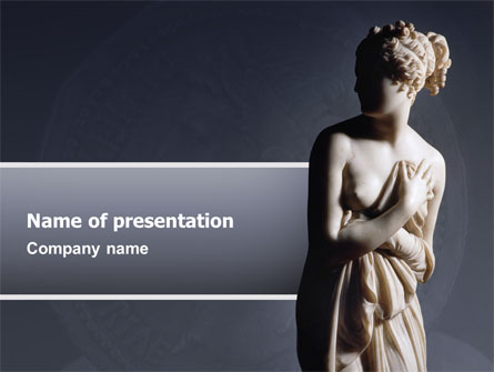 roman sculpture presentation template for powerpoint and keynote