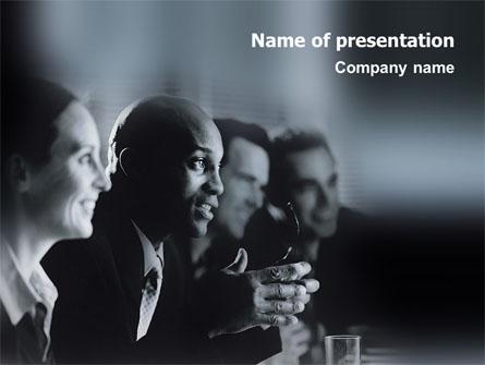 Debate Presentation Template, Master Slide