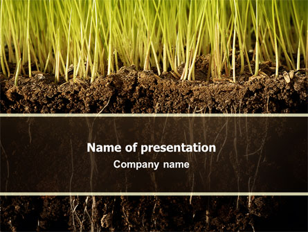 Soil power point templates soil presentation theme for Words for soil