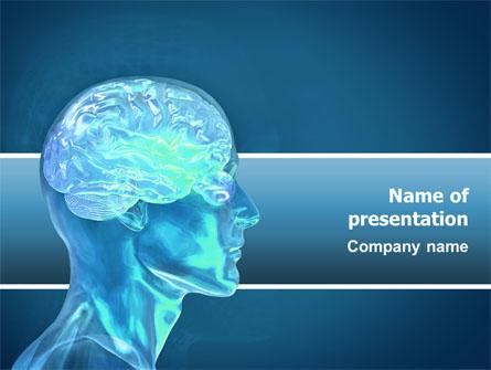 Brain Activity Presentation Template, Master Slide