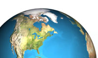 Animated Earth Presentation Template