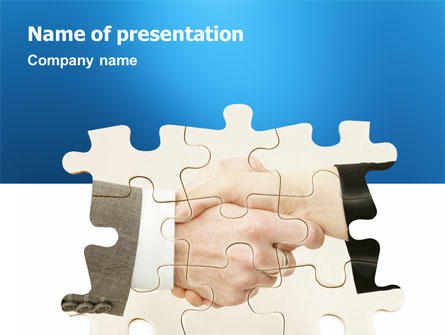 Partnership Presentation Template, Master Slide