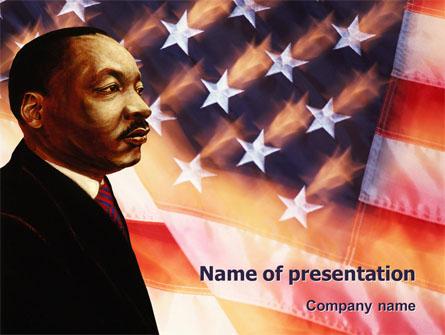 Martin Luther King Presentation Template, Master Slide