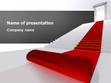 red carpet presentation template for powerpoint and keynote ppt star