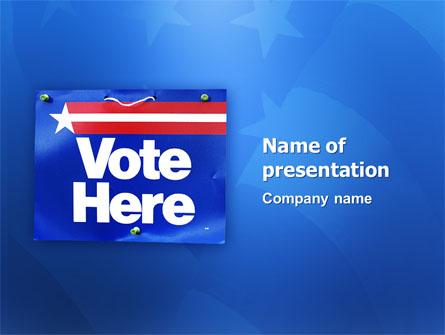 Primaries Presentation Template, Master Slide