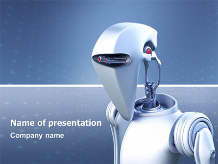 Robot Presentation Template for PowerPoint and Keynote ...
